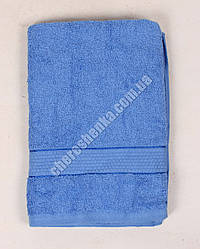 Махровое полотенце для лица YZ1807 (90*50) Синий