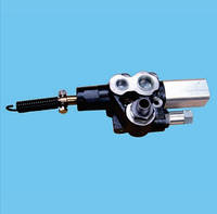 Перекидной клапан Hyva  80л пневматический(cable knock-off)