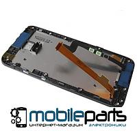 Оригинальный  дисплей (модуль) + сенсор (тачскрин)  для HTC Desire 601 | 315n С рамкой (Черный)