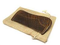 Расческа деревянная для ухода за бородой