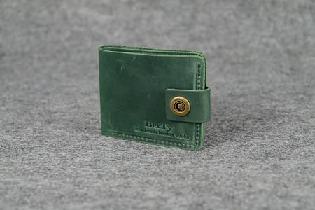 Классическое мужское портмоне (6 карт)  10407  Зеленый