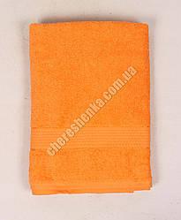 Махровое полотенце для лица YZ1807 (90*50) Оранжевый