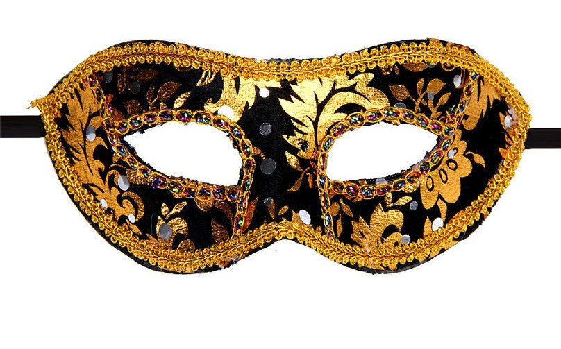 Мужская маска карнавальная венецианская_Казанова