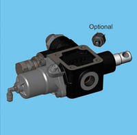 Перекидной клапан Hyva 150л пневматический(cable knock-off)