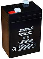 Аккумулятор EverExceed AM 6-4,5 (6В, 4,5Ач)