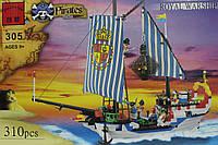 Конструктор Brick пиратский корабль Royal Warship