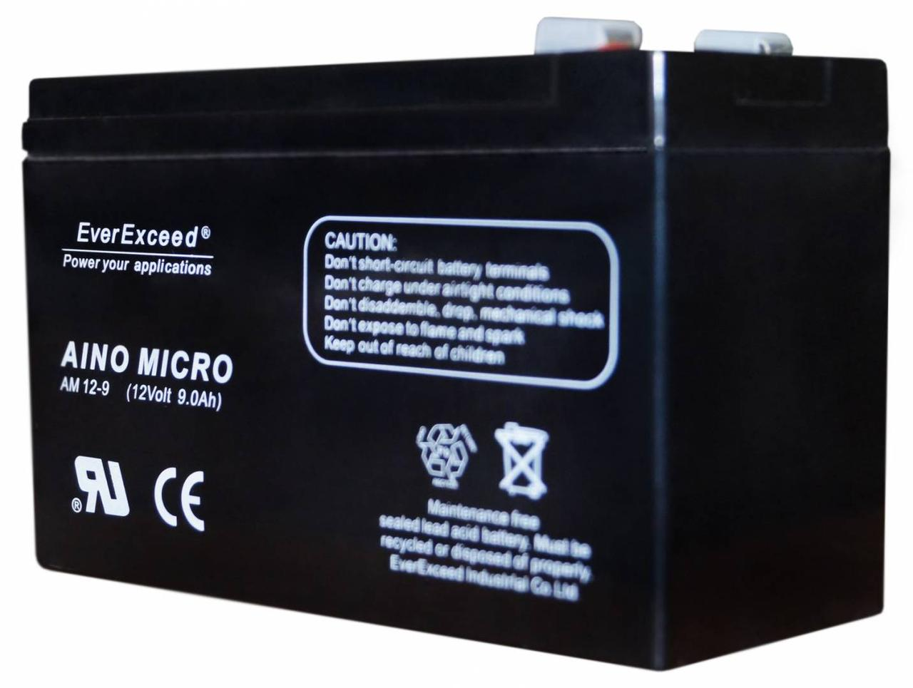 Аккумулятор EverExceed AM 12-9 (12В, 9Ач)