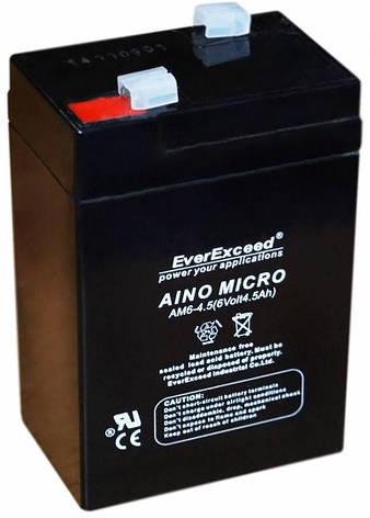 Аккумулятор EverExceed AM 12-9 (12В, 9Ач), фото 2