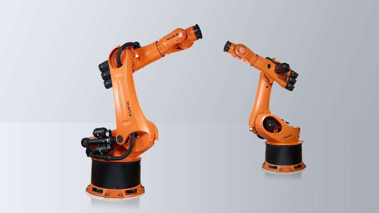 Великоваговий робот KUKA KR 360 FORTEC