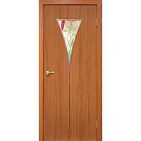 Межкомнатные двери Омис Рюмка-2 ПВХ СС+ФП (ольха)