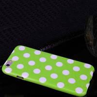 Силиконовый чехол Peas Горошек Green Зеленый для IPhone 6/6s