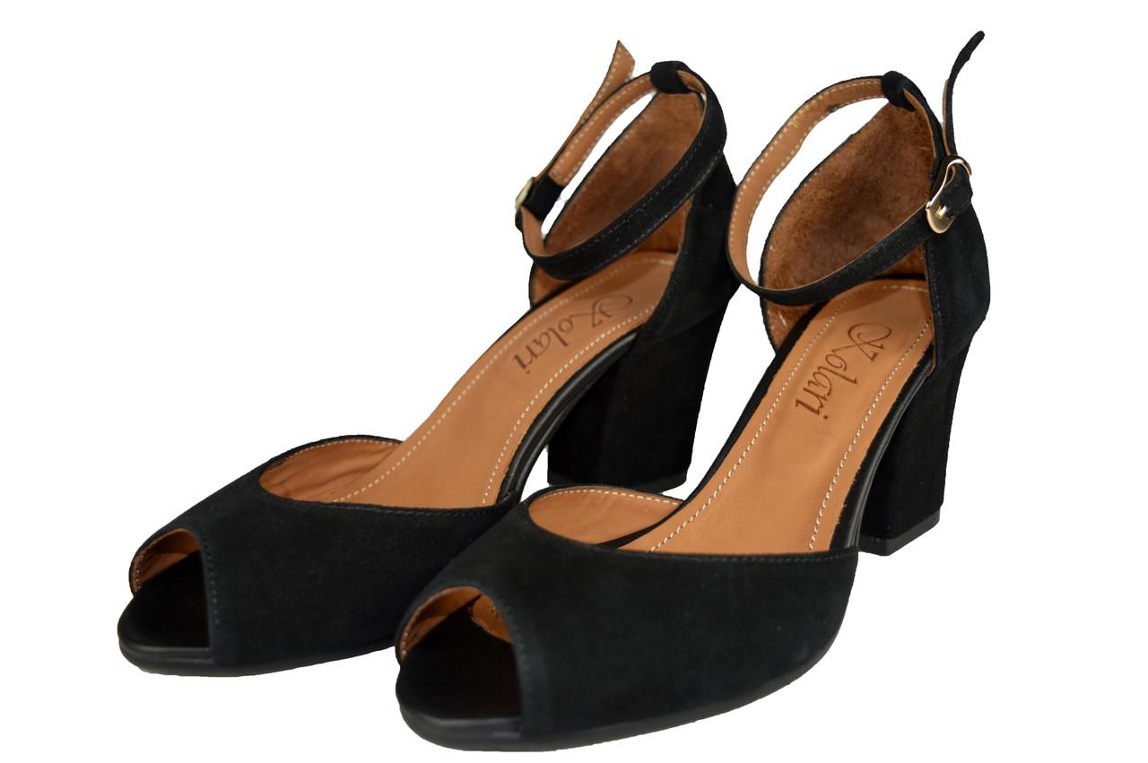 bfd48ef6c Женские женские туфли кожаные kolari 5577 черные летние - Магазин обуви