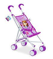 Коляска для куклы летняя 8 колес Disney Sofia (D1001S)