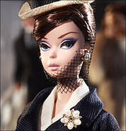 Колекційна лялька Барбі Силкстоун Fashion Model Silkstone Boater Ensemble Barbie, фото 2