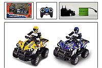 Квадрацикл с мотоциклистом YD898-MT1912 на радиоуправлении, аккум., 2 вида