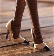 Колекційна лялька Барбі Силкстоун Fashion Model Silkstone Boater Ensemble Barbie, фото 3