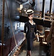 Колекційна лялька Барбі Силкстоун Fashion Model Silkstone Boater Ensemble Barbie, фото 6
