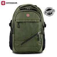 Городской рюкзак SwissGear / Wenger SA9037  с отделом для ноутбука .оригинал
