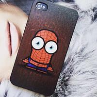 Пластиковый чехол Spider-Man для IPhone 4/4s