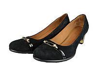 Женские женские туфли кожаные kolari 7187 черные   весенние