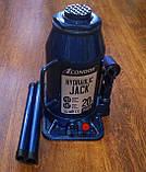 """Домкрат гідравлічний 20 т. """"CONDOR"""" (в картон. уп.) 242 - 452 мм, K5020, фото 6"""