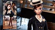 Колекційна лялька Барбі Силкстоун Fashion Model Silkstone Boater Ensemble Barbie, фото 4
