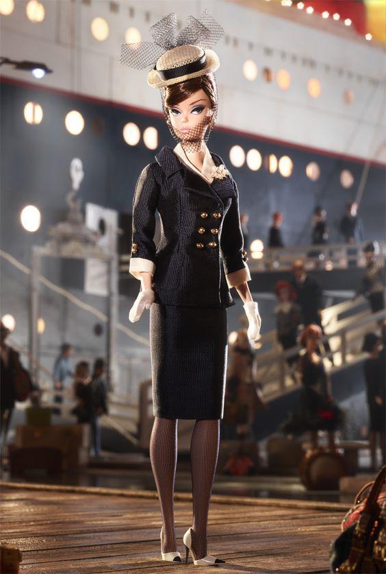 Колекційна лялька Барбі Силкстоун Fashion Model Silkstone Boater Ensemble Barbie