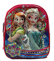 """Рюкзак школьный для девочек 1-4 класс в 3D изображении """"Холодное сердце"""""""