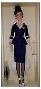 Колекційна лялька Барбі Силкстоун Fashion Model Silkstone Boater Ensemble Barbie, фото 7