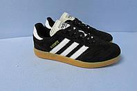 Кроссовки Adidas Busenitz (335-1) черные код 0694А