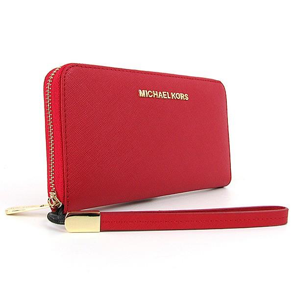 Кошелек Michael Kors красный женский кожаный на молнии - Интернет магазин  сумок SUMKOFF - женские и 1b0a05b74ec