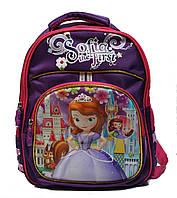 """Рюкзак школьный для девочек 1-4 класс в 3D изображении """"Sofia"""""""