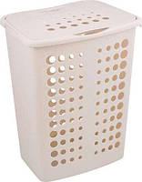 Пластиковая корзина для белья кремовая на 40 л VICTOR Curver 208510