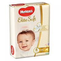 Подгузники детские Huggies Elite Soft 4, 8-14 кг 66 шт