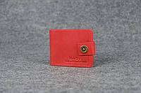 Классическое мужское портмоне (с карманом для мелочи) |10403| Красный