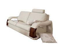 Стильный двухместный кожаный диван ARTE 2 (154см)