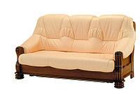 """Классический раскладной кожаный диван """"ADAM"""" (190см)"""