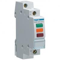 Индикатор LED тройной, красный-зеленый-оранжевый 230В Hager