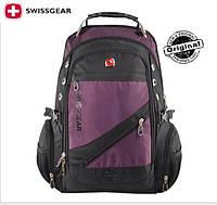Рюкзак SwissGear / Wenger SA1418Violet с черным оригинал