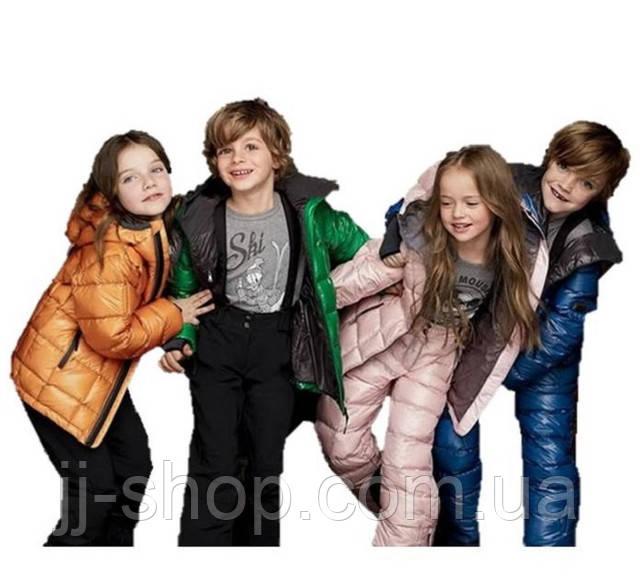 Детская и подростковая зимняя верхняя одежда
