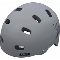 Шлем детский ABUS SCRAPER KID v.2 grey ride S