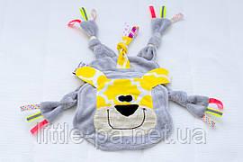 Игрушка- грызун их хлопка для новорожденного «Львёнок»