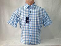 Мужская рубашка с коротким рукавом в клетку Passero, Турция