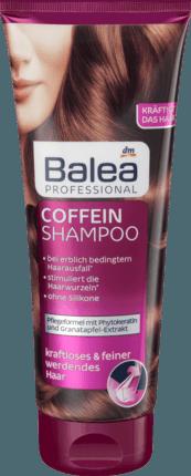 BALEA Professional Coffein Shampoo - Шампунь восстанавливающий с кофеином 250 мл