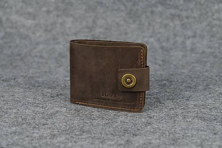 Классическое мужское портмоне (6 карт)  10409  Коричневый
