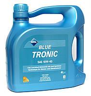 Aral BlueTronic SAE 10W-40 - моторное масло полусинтетика - 4 литра.