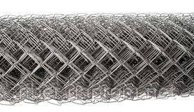 Сетка рабица 55х55х3,0мм высота 2,0м, фото 2