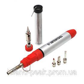 Микрогорелка газовая (паяльник) INTERTOOL GB-0005