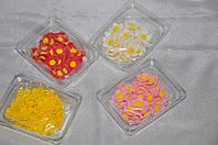 """Украшение для тортов из сахарной мастики - набор цветов """"Весняночка"""""""