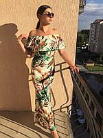 Плаття Floral Print Maxi Dress